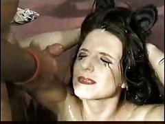 Randi storm and lena ramon in a smokin hot bukkake scene