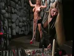 bdsm, lesbians, milfs, blondes, latex, femdom, big boobs