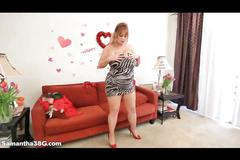 Samantha 38g huge tits bbw