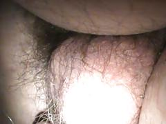 Edging in wife pussy close up