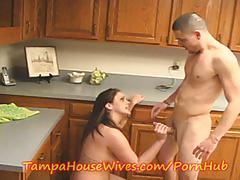 Housewife fucks the plumber