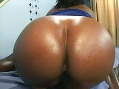 Big booty black girl getting drilled - derty24