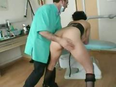 French milf goes to the dentist-part 2