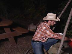Jason and brenner drill each other on brokeback mountain