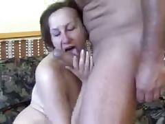 Busty mature hairy pussy anal