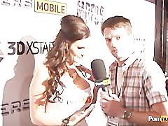 Pornhubtv phoenix marie pt2 interview at 2012 avn awards