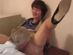 Milf boss fucks her assitant