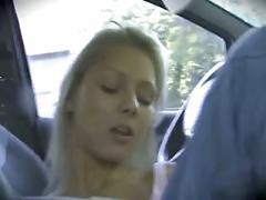 Ingrid - car fuck
