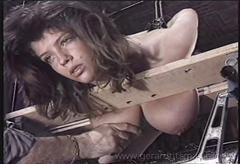 Isabelle gets her fat tits tortured