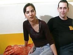 Premier casting d un jeune couple