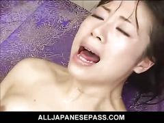 Hairy pussy asian hottie double fucked hardcore
