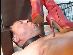 Shoeshine slave