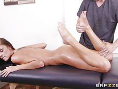 massage, babe, blowjob, big boobs, oiled, fingering, brunette, rubbing, tits squeezing, dirty masseur, brazzers network, whitney westgate, jessy jones