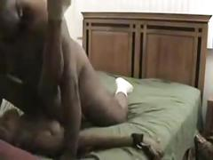 Old man puts the dick to a little ebony woman