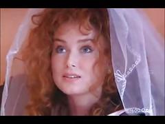 Wedding night: threesome with a redhead & an ebony woman