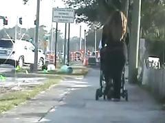 Candid chubby street ass