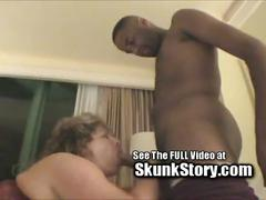 Big breasted milf vs big black dick!
