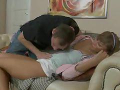Her 19yearold asshole gets dominated