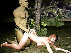 Getting fucked in the jungle