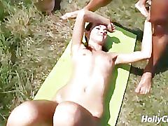 German camping party 4