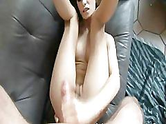 Ass fucked babe scream hard