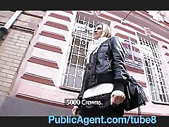 Publicagent she fucks me to be a model