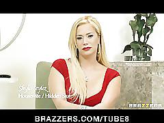 Busty cheating wife shyla stylez is fucked anal while hubby watches