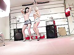 Stacy silver and girlfriend 2