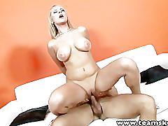 Teamskeet big tits blonde tammy fucked cumshot