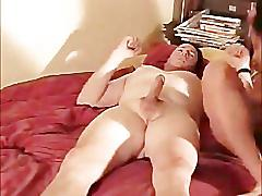 Hot brunette milf creampied on real homemade