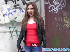 Publicagent hot russian loves fucking in public