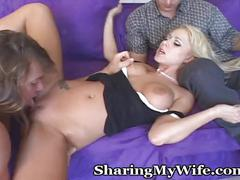 A real man pleases this incredible wife
