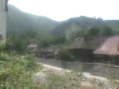 Hot spring blowjob