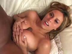 cumshot, facial, blonde, interracial, blowjob, titjob, busty, pussytomouth, pussyfucking, socks