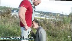 Muscle gay twink jockstrap movietures muscular studs fuck in the grassy field