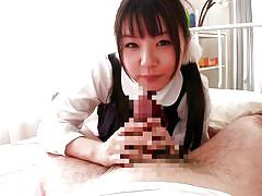 Sweet japanese girl is wet for me