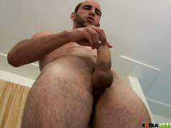hunks, solo, amateurs, jerking, handjob, stud
