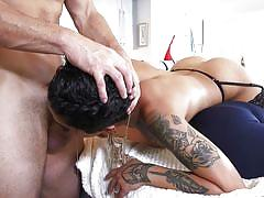 threesome, babe, ebony, interracial, big cock, deepthroat, cheating, humiliation, tattooed, cuckolding, cucked xxx, pimp xxx, jimmy broadway, honey gold, t stone
