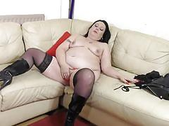 mature, masturbation, stockings, dildo, pierced nipples, fat, bbw, mature nl, roxy xxxxxxxx