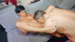 Xxx omas - german granny eats cum in dirty hard fuck
