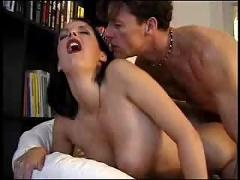 anal, cumshot, facial, blowjob, brunette, trimmed, fingering, titlicking, pussylicking, highheels