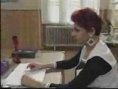 Schoolgirl fucked in bathroom