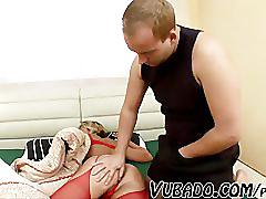 Russian sexy gilf fucked