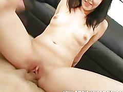 Horny guy fucks amateur babe creampied her hot pussy