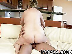 Old housewife fucks with young boy
