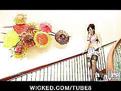 erotic, wickedcom, wicked, pornstar, milf, brunette, pov, stockings, cowgirl