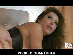 erotic, wickedcom, wicked, sloppy, wet, dripping, pussy-licking, close-up, big-tits, milf, lingerie, doggystyle