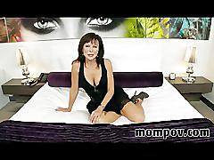 Swinger milf does debut adult video