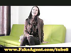 Fakeagent amateur loves anal
