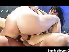 Victoria nailed by two guy and get dp2